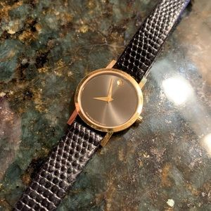 Like New Movado Museum Quartz Women's Casual Watch